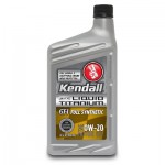 Kendall GT-1 Full Synthetic Motor Oil with Liquid Titanium 0w-20