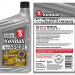kendall FS LT 5w-30 back