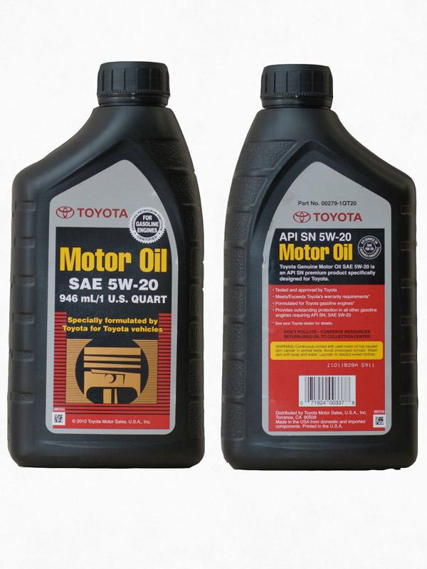 Genuine Toyota Motor Oil 0 946 66