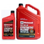 Ford 5w30 Motorcraft Synthetic Blend 0