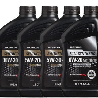 Honda Genuine Motor Oils Synthetic Blend