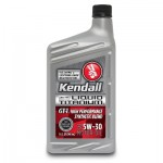 Моторное масло Kendall GT-1 High Performance Synthetic Blend Liquid Titanium (5w-20/5w-30/10w-30) 0,946л