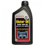 Моторное масло Genuine Toyota Motor Oil 5W-20/5W-30 0,946л