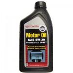 Моторное масло Genuine Toyota Motor Oil 5W-20/5W-30 0,946л