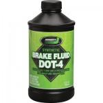 Синтетическая тормозная жидкость Johnsen's Premium Synthetic DOT 4 Brake Fluid (5012) 0,946л