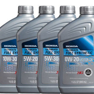 Honda Genuine Motor Oils Full Synthetic