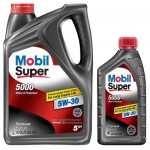 Моторное масло Mobil 1 Super 5000 (5W-30/10W-40)