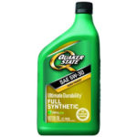 Моторное масло QUAKER STATE ULTIMATE DURABILITY FULL SYNTHETIC 0W-20/5W-20/5W-30/5W-50 0,946л