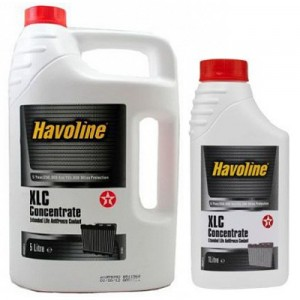 TEXACO HAVOLINE XLC CONCENTRATE (5L+1L)