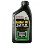 Моторное масло Toyota Synthetic Motor Oil 0W-20 0,946л (00279-0WQTE)