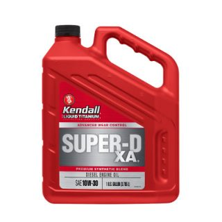 Kendall Super-D XA Diesel Engine Oil 10w30