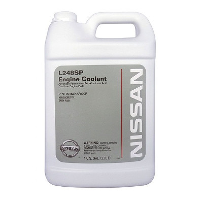 Антифриз концентрат зеленый ( 80) genuine fluid green nissan l248spАнтифриз концентрат зеленый ( 80) genuine fluid green nissan l248sp engine coolant