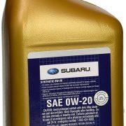 Genuine Subaru 0W-20 Motor Oil (SOA427V1310)