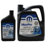 Моторное масло CHRYSLER MOPAR MaxPro 5W-20/5W-30 0,946л-5л