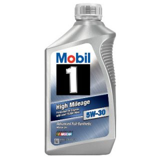 Mobil 1 High Mileage 5W-30 Advanced Full Synthetic