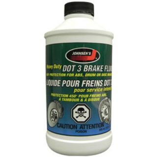 Тормозная жидкость Johnsen's Heavy Duty Synthetic DOT 3 Brake Fluid (2212)