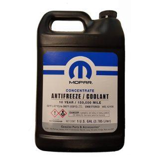 Антифриз-концентрат фиолетовый (-80) MOPAR ANTIFREEZE/COOLANT 10 YEAR (68163848AB) 3,785л