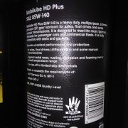 Mobilube HD Plus SAE 85W-140 back
