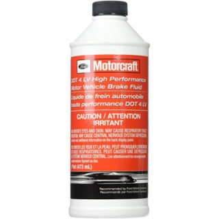 Motorcraft DOT 4 LV High Performance Motor Vehicle Brake Fluid (PM-20)