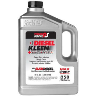 Power Service 03080-06 +Cetane Boost Diesel Kleen Fuel Additive - 80 oz