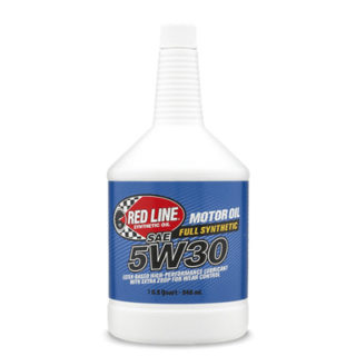 RED LINE Full Synthetic 5W30 MOTOR OIL