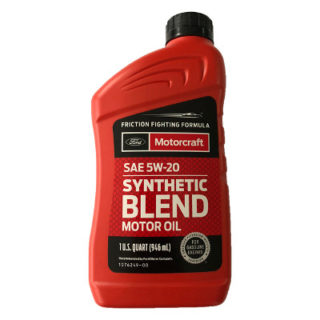 Ford Motorcraft Synthetic Blend SAE 5W-20