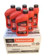 Ford Motorcraft Synthetic Blend SAE 5W-20 bulk