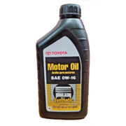 Моторное масло Toyota Synthetic Motor Oil 0W-16 (0027916QTE) 0,946л