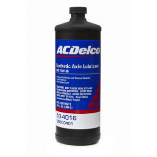 ACDelco 75W-90 GL-5 Synthetic Axle Lubricant (10-4016)