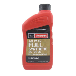 Ford Motorcraft SAE 5W-50 Full Synthetic Motor Oil