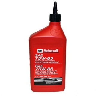 Ford Motorcraft SAE 75W-85 Premium Synthetic Hypoid Gear Lubricant