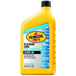 Pennzoil Platinum Euro 0W-40 Full Synthetic Motor Oil (550036272)