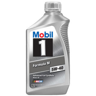 Mobil1 Formula M 5W-40 Advanced Full Synthetic Motor Oil (M6069F)