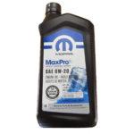 Моторное масло CHRYSLER MOPAR MaxPro 0W-20 (68218950AC) 0,946л