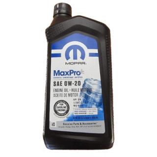 MOPAR MaxPro 0W-20 68218950AC
