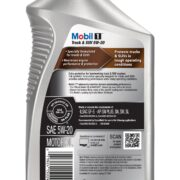 Mobil1 Advanced Full Synthetic Truck & SUV5w20 back