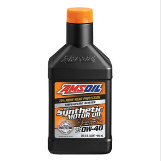 AMSOIL Signature Series Synthetic Motor oil 0W-40 (AZFQT-EA) 0,946л
